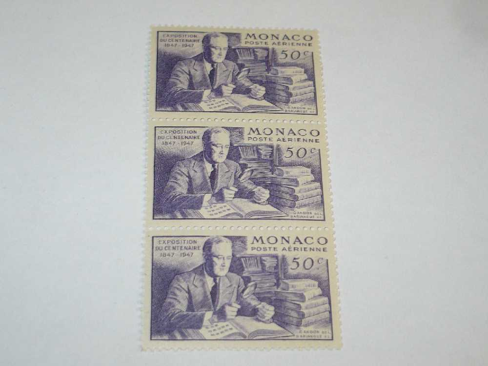 Details About Vtg 3 Monaco Fdr Roosevelt 50 Cent Stamps 6 Finger Hand Error Philately Mnh